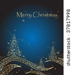 background for new year and for ... | Shutterstock .eps vector #37817998
