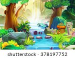 creative illustration and... | Shutterstock . vector #378197752