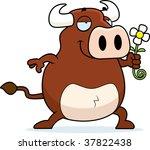 bull flower | Shutterstock . vector #37822438