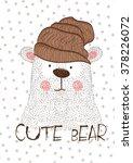 cute bear | Shutterstock .eps vector #378226072