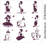 fashion and beauty logo and...   Shutterstock .eps vector #378244462