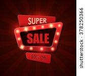 sale background in vintage... | Shutterstock .eps vector #378250366