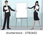 business figures making a...   Shutterstock .eps vector #3782602