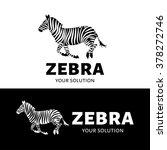vector logo zebra. brand logo... | Shutterstock .eps vector #378272746