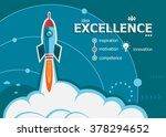 excellence design and concept... | Shutterstock .eps vector #378294652