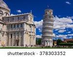 piza tower | Shutterstock . vector #378303352