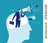 marketing. concept business... | Shutterstock .eps vector #378304285
