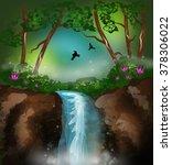 beautiful illustration of... | Shutterstock . vector #378306022
