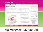 website design | Shutterstock .eps vector #37830838
