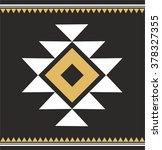 light blue navajo ethnic... | Shutterstock .eps vector #378327355