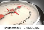 performance compass | Shutterstock . vector #378330202