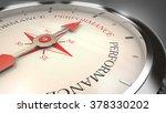 performance compass | Shutterstock . vector #378330202
