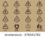 Set Of Packaging Symbols ...