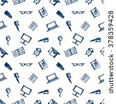 seamless raster pattern ... | Shutterstock . vector #378359428
