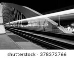 night view of troja bridge ... | Shutterstock . vector #378372766