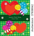 cute butterfly garden | Shutterstock .eps vector #37838062