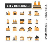 city icons | Shutterstock .eps vector #378394516