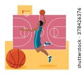 basketball sport team concept... | Shutterstock . vector #378426376