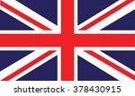 image of british flag | Shutterstock .eps vector #378430915