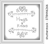 simple hand drawn doodle of a... | Shutterstock .eps vector #378446266