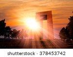 canakkale martyrs' memorial... | Shutterstock . vector #378453742