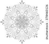 oriental vector pattern with... | Shutterstock .eps vector #378460126