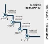 business infographics vector... | Shutterstock .eps vector #378460408