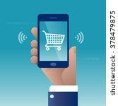 e commerce. concept business... | Shutterstock .eps vector #378479875