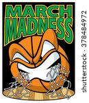 march madness  | Shutterstock .eps vector #378484972