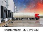 truck  transportation | Shutterstock . vector #378491932