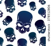 vector seamless pattern with... | Shutterstock .eps vector #378512806