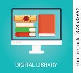 modern vector illustration of... | Shutterstock .eps vector #378533692