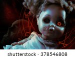 possessed demonic doll.... | Shutterstock . vector #378546808