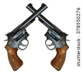 crossed pistols is an... | Shutterstock . vector #378550276
