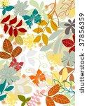 nature pattern 7 | Shutterstock .eps vector #37856359