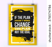 motivation business quote...   Shutterstock .eps vector #378574786