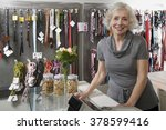 Stock photo pet shop owner 378599416