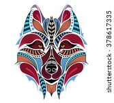 Patterned Colored Head Of The...