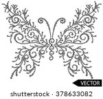 embellishment hot fix stud... | Shutterstock .eps vector #378633082