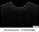 embellishment hot fix stud... | Shutterstock .eps vector #378633088