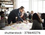 business people meeting design... | Shutterstock . vector #378640276