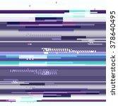 abstract purple wallpaper in... | Shutterstock .eps vector #378640495