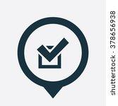 check icon vector   Shutterstock .eps vector #378656938