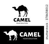 vector logo camel. brand logo... | Shutterstock .eps vector #378658012