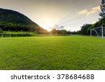 soccer field in the rural | Shutterstock . vector #378684688