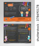 back to school concept ... | Shutterstock .eps vector #378690178