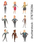vector cartoon image of a set... | Shutterstock .eps vector #378738286