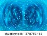 abstract background blue bokeh... | Shutterstock . vector #378753466