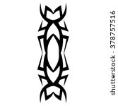 tattoos. stencil. patterns....   Shutterstock .eps vector #378757516