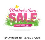 mother's day sale banner | Shutterstock .eps vector #378767206